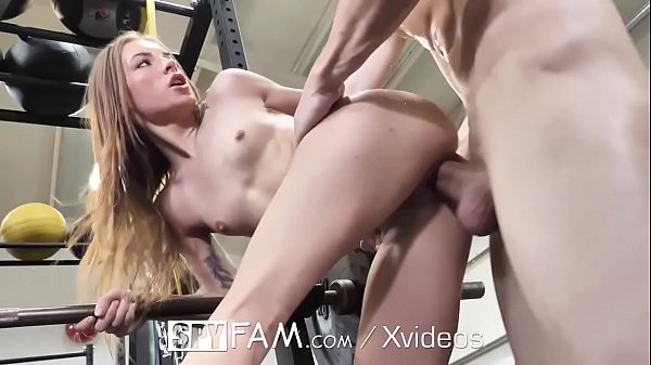 SPYFAM Stepsister fucked at the gym by big dick step brother Thumb