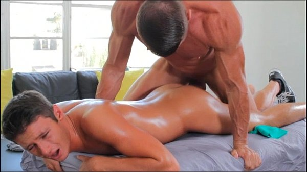 Naughty Muscle Guy Pounding His Friend Butt