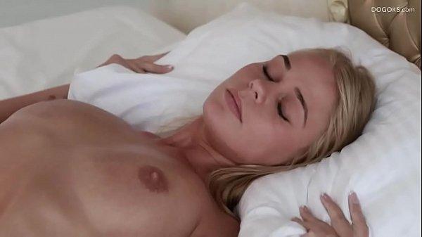 Massage with toys Darina Nikitina oiled Thumb