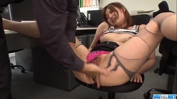Yumi Maeda goes wild on cock while at the office