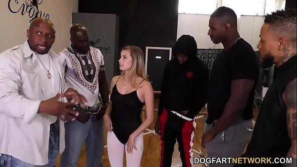 Carolina Sweets Interracial Gangbang Thumb