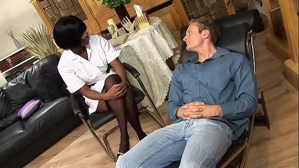 Psychiatric Nurse Jasmine Webb Gives Scorching Anal Relief To Horny Patient Thumb