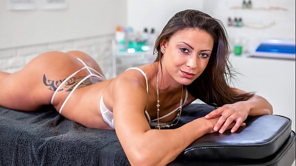 BITCHES ABROAD - Doctor fucks tourist babe Cassie Del Isla hard from behind Thumb