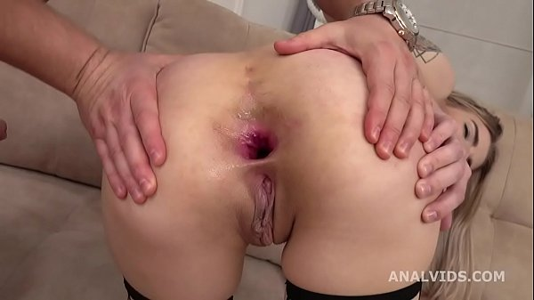 Mr. Anderson's Anal Casting with Monroe Fox, Balls Deep Anal, Gapes and Cum in Mouth GL349