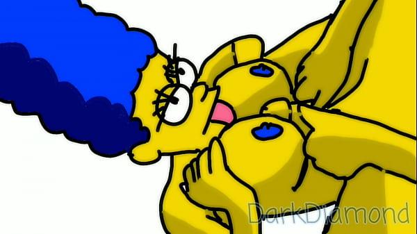 Marge Simpson Having Sex