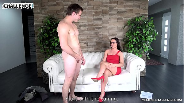 Luxury dressed pornstar Wendy Moon fucked by newcomer well & creampie