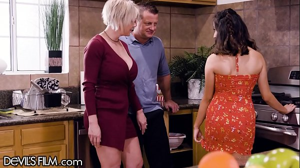 Busty MILF Brought Home Mistress to Play