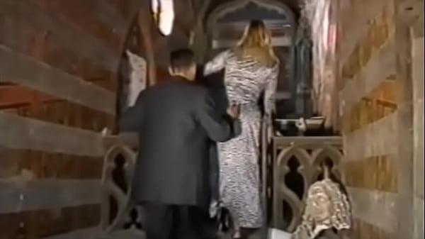 Dina Jewel fucked by a dirty priest