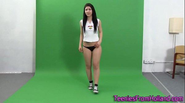 Little booty teen model