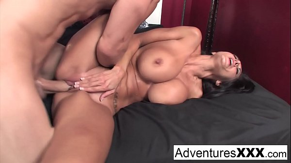 Hot big boob milf takes on a giant Dick
