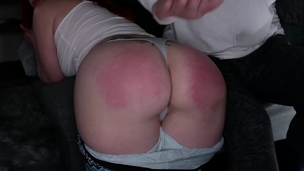 AmberDawn is spanked