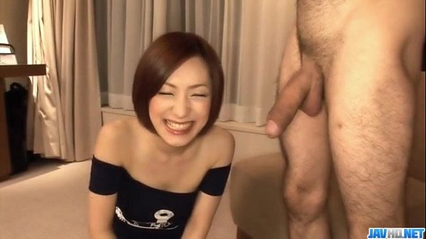 Nene Iino throats big cock until exhaustion Thumb