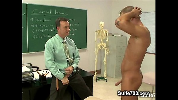 Naughty gay suck teachers big phallus in classroom