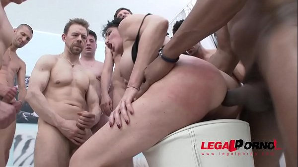 Sissy Neri busty milf gangbang - Way more Dick then she can handle.