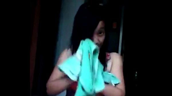 Vita ayu telanjang habis mandi (nude after bath)