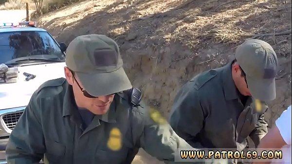 Dani daniels police Russian Amateur Takes it Like a Pro