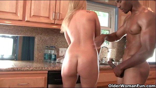 Blonde soccer mom trashed by big black cock Thumb