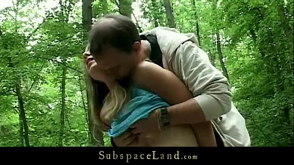 Bdsm fantasy into the forest with busty slave Thumb