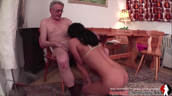 Young slut & old guy: piss play, food play & hot fucking! AMATEURCOMMUNITY.XXX Thumb