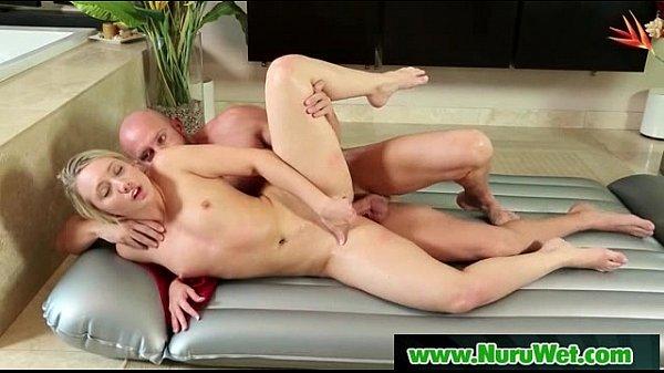 Hot Masseuse Givs Nuru Slipper Massage And Happy Ending 03