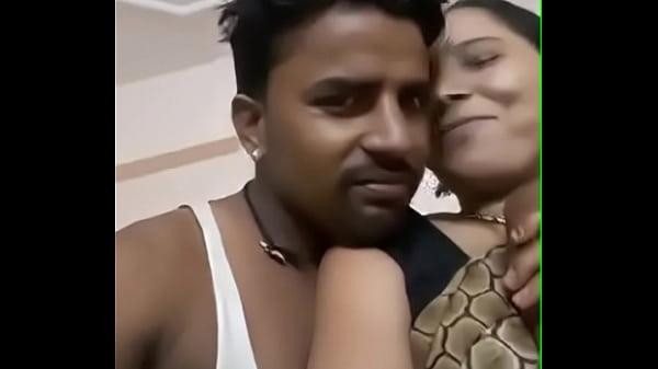 Married Aunty: Pressing Desi Aunty Big Boobes