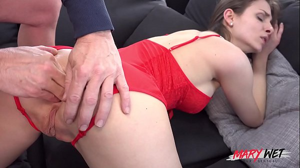 OMG! Huge cock blows Mary's butt hole!