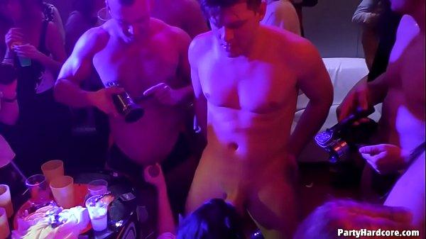 Hardcore orgy party