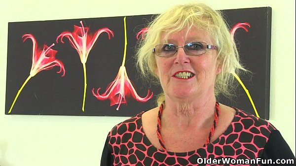 Claire Grandma - British gilf Claire Knight feels like a good stuffing ...