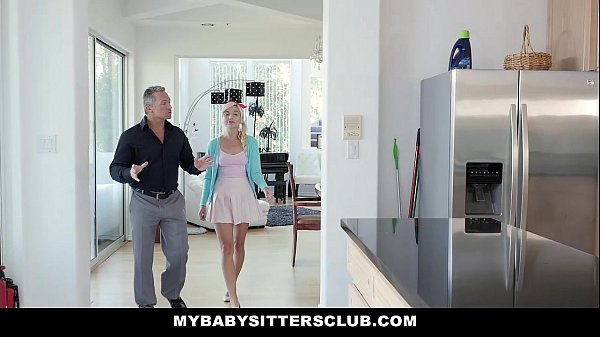 MyBabysittersClub - Super Cute BabySitter (Eliza Jane) Fucks For Money