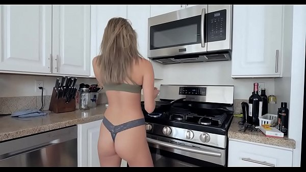 Step brother and sister sister kitchen fuck Thumb