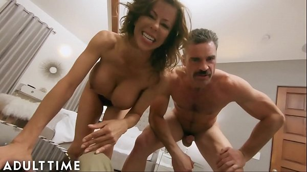 ADULT TIME Hot WIFE Alexis Fawx Cucks U with Police Officer!!! Thumb