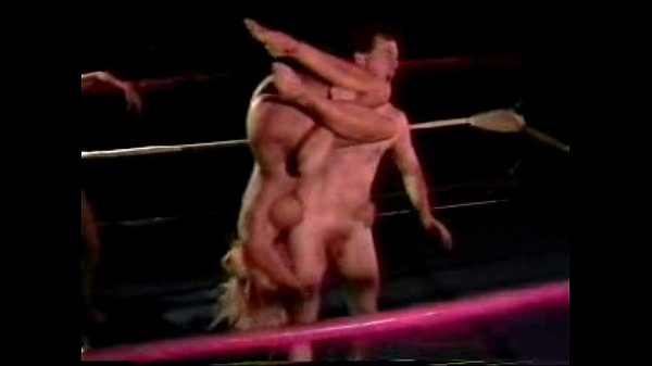 With naked mixed wrestling