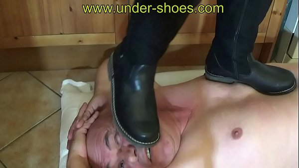 Boots destruction fetish