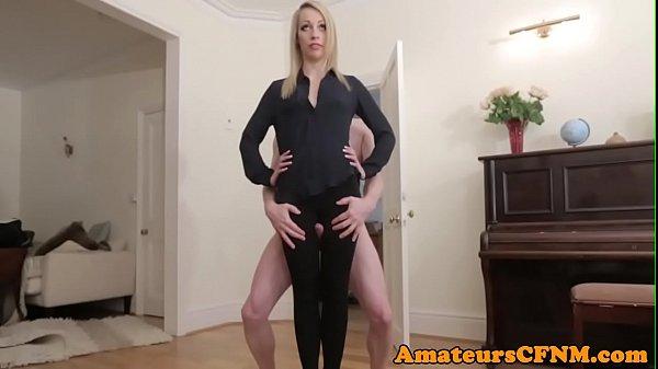 CFNM fetish gf humped by her sub boyfriend