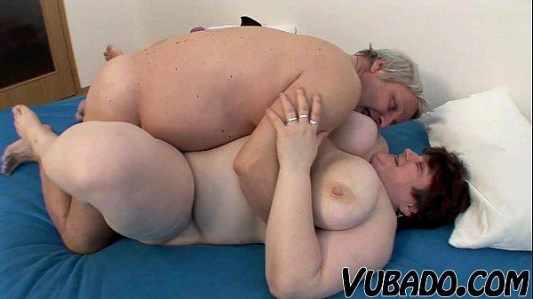 OLD, FAT AMATEUR COUPLE FUCKS !! Thumb