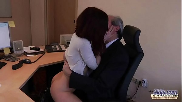 Old Young Porn My Sister Fucked Her Boss in the office and swallowed cum Thumb
