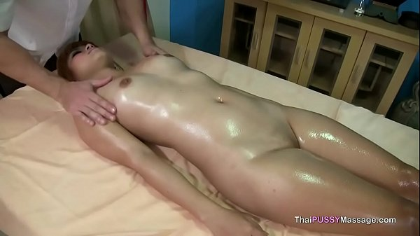 Young Thai girl gets happy ending massage Thumb