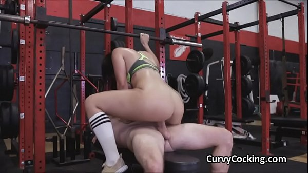 PAWG hottie pounded at the gym after workout Thumb