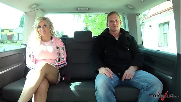 Busty wild blonde Jarushka Ross meet Takevan crew and fuck them all