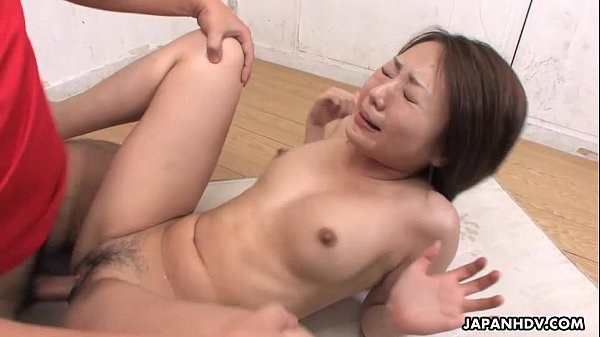Asian slut has a dick full of her pussy in the ...