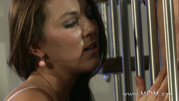 MOM Horny brunette craves his cock