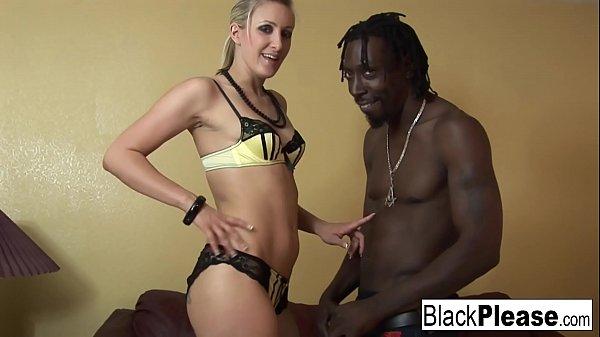 Angel Long Loves Black Cock