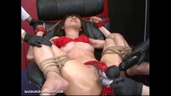 סרטון פורנו Japanese Bondage Sex – Extreme BDSM Punishment of Asari (Pt. 14)