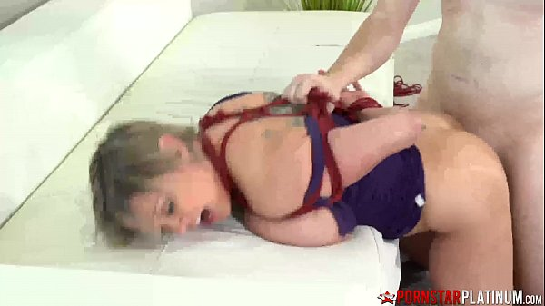 PORNSTARPLATINUM Dee Williams Tied Up And Smashed By Perv