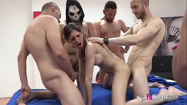The day Siona was fucked by 7 dicks at the same time!!!