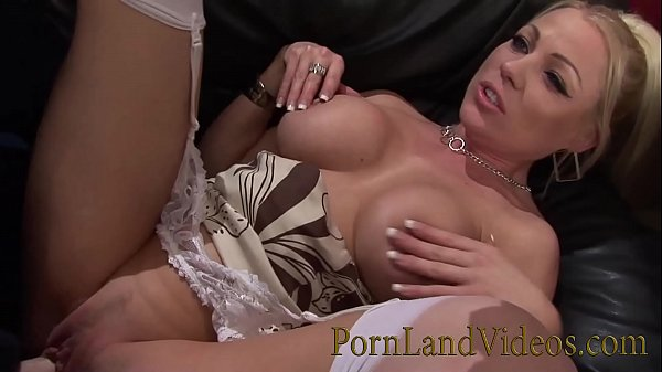 Busty British Blonde Fucked on the Table Thumb