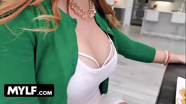 Big Tits Redhead MILF Step Mom Dani Jensen Fucks Teen Daughters Boyfriend In Front Of Her