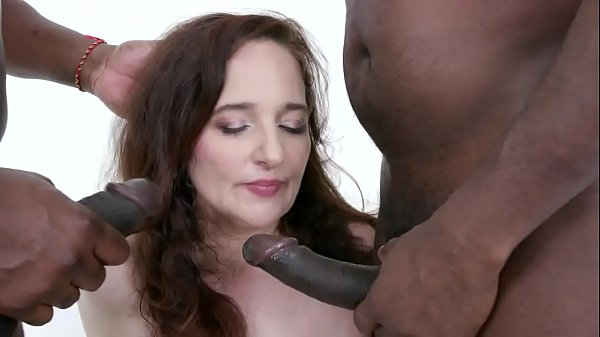 BBC anal fun with busty MILF Amelie IV497 Thumb