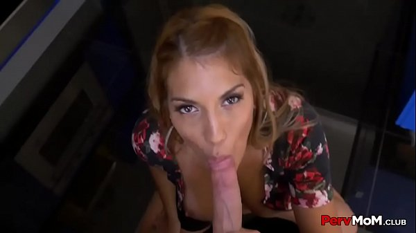 Latina Mommy Role-Playing Blowjob For Son Thumb