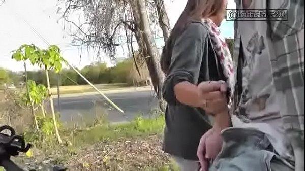 Stranger Gives BlowJon On Street Thumb